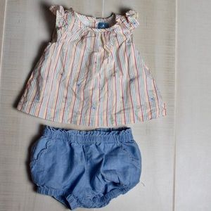 2 pc Baby Gap Outfit